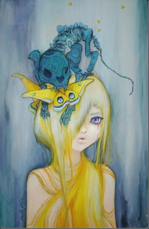 Lindas pinturas de Camilla d'Errico (5)