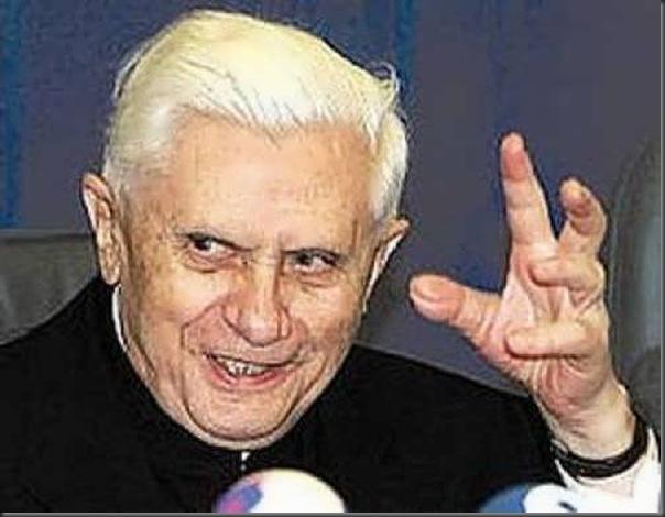 As várias faces de Papa Bento XVI (5)