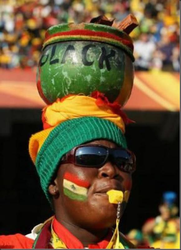 Fantasias loucas e engraçadas na copa do mundo da África do Sul (33)