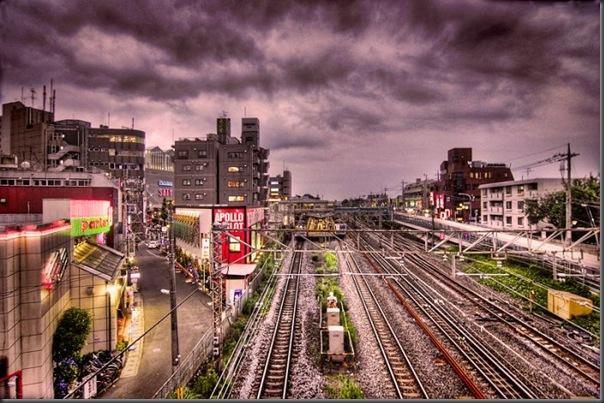 Belas fotos de Tóquio em HDR