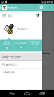 Screenshot of Freebee Loyalty Programs