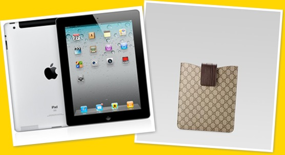 View ipad2 and Gucci ipad case