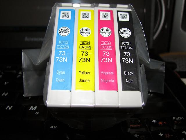 bán mực zin chính hãng epson t13/tx121/t30/t60/1390/me32 giá 450k giao hàng tận nơi