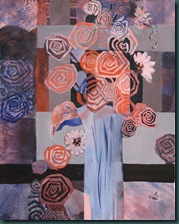 orange and blue flowers 6