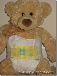 preemie disposable diaper front