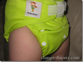 kawaii diaper on baby