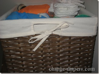 cloth diaper organization