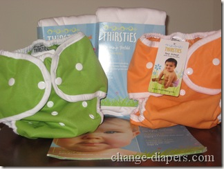 thirsties duo wraps and hemp prefolds