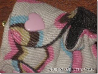 anaya baby mini cloth diaper keychain or ornament