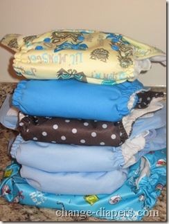 Bumkins Large vs One Size Cloth Diapers