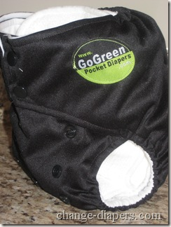 GoGreen Champ Noir Pocket Diaper