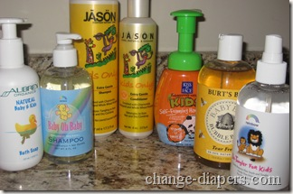 children's natural bath products