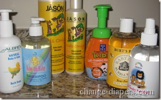 natural children's bath products
