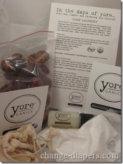 yoreganics natural laundry products