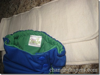 sprout change organic cotton inserts