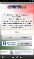 Screenshot of Christmas Trivia