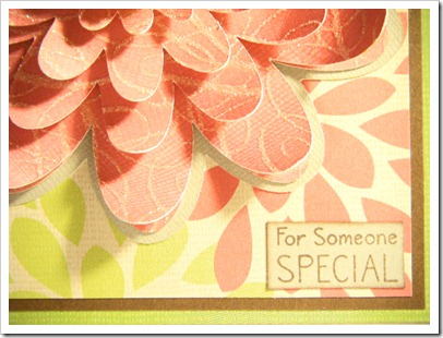 PEACHY MOMS DAY FLOWER CARD 3