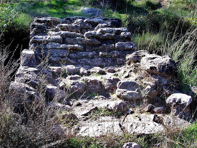 Tablero del Puente romano del arroyo de Linares