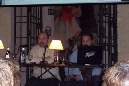 Manuel ortas y Arturo rueda