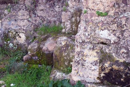 Detalle del muro