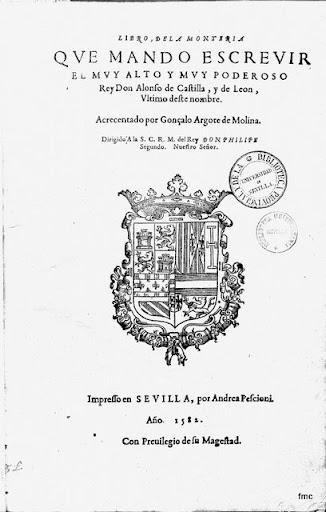 El libro de la Montería, de Alfonso XI