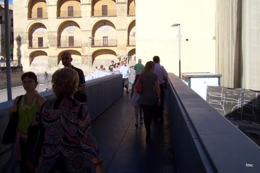 Pasarela puerta del puente