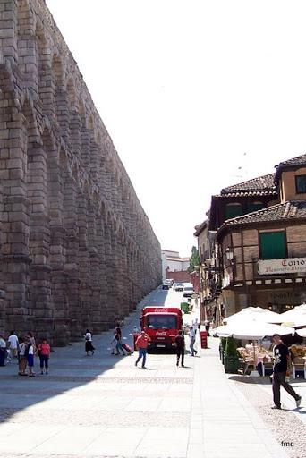 Carbonell y Morand en Segovia