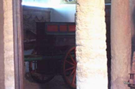 Pianillo de la Coja en el Palacio de Viana