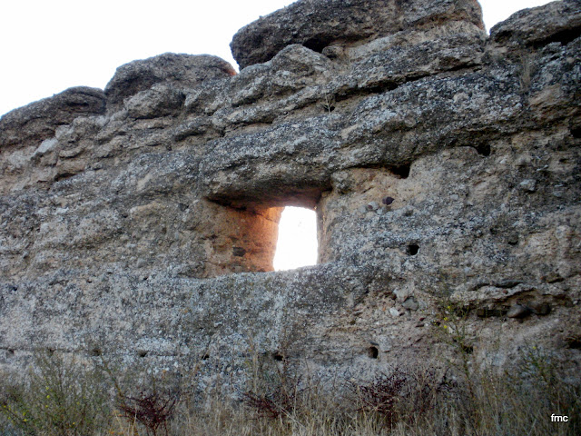 Tronera muro oeste.
