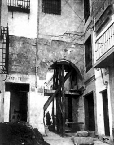 El Portillo en ruinas