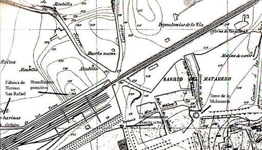 Plano de la ciudad de 1884.