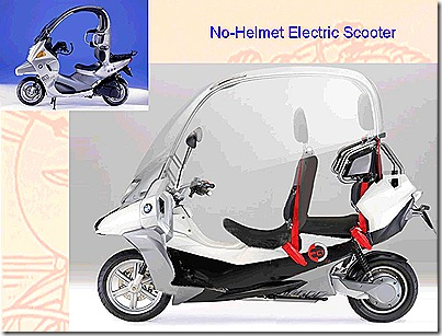 Electric No-helmet Scooter 2