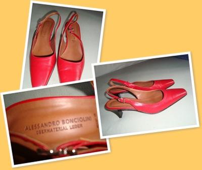 View Pantofi rosii Alessandro Bonciolini - 160 RON