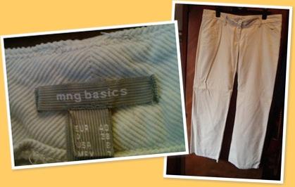 View Pantaloni Mango