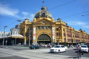 Melbourne Flinders St Station