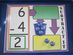 Subtract It Math Game