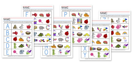 K4 Beginning Sounds Worksheets Confessions Of A Homeschooler. Have Your Student Look At The Letter In Beginning Of Row Say Names All S That Then Circle Ones Begin With. Worksheet. Beginning Sounds Worksheets At Mspartners.co