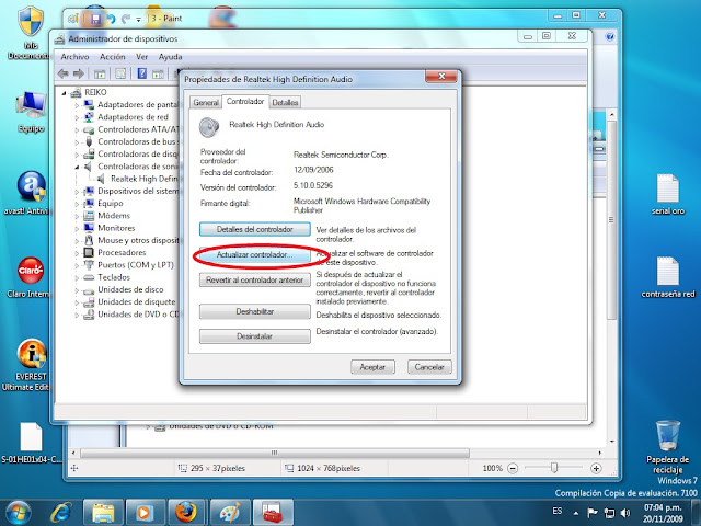 descargar controlador de sonido multimedia para windows xp