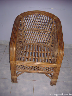 Before Painting : Cane Chair