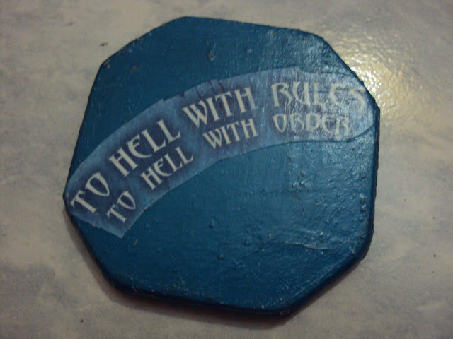 To Hell with Rules Coaster