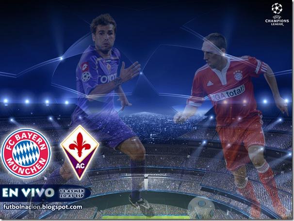 bayern vs fiore champions league en vivo
