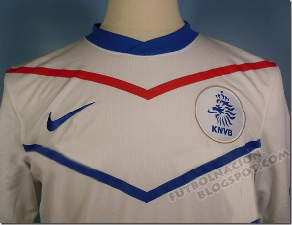 Holland away kit sudafrica 2010- holanda visita