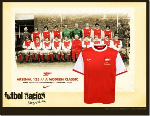 arsenal home kit 2010-2011 (125 aniversario)