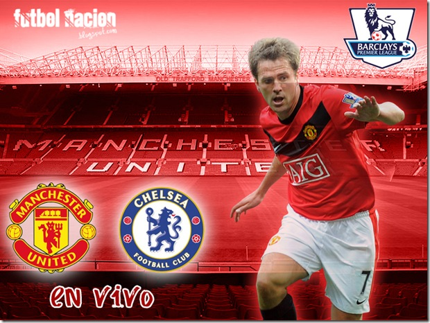 manchester vs chelsea en vivo premier league 09-10