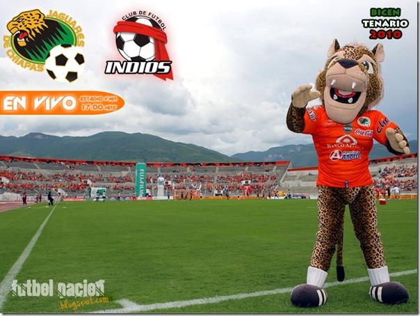 jaguares vs indios en vivo bicentenario 2010