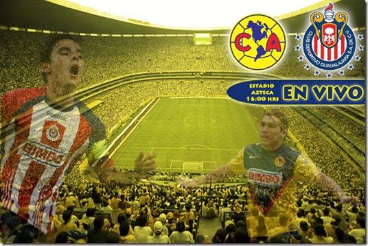 america vs guadalajara-estadio azteca-apertura 2009 EN VIVO