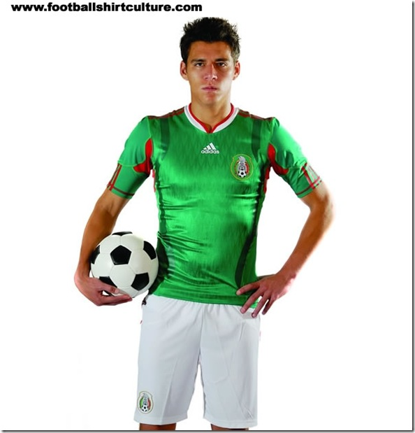kit mexico adidas 2010