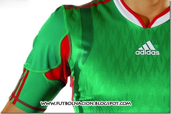 nueva playera mexico 2010