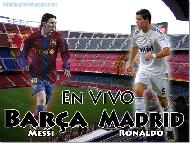 EN VIVO- barca vs madrid