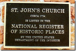 National Historic Places Plaque